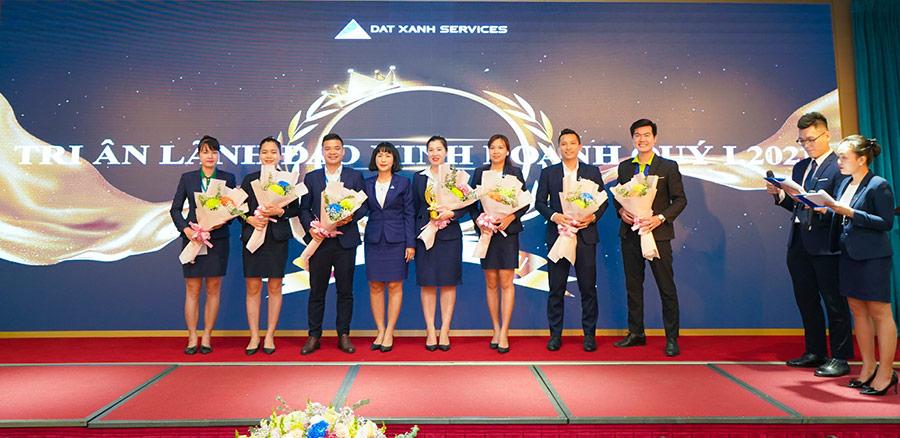 Dat Xanh Services vinh danh cá nhân xuất sắc quý 1 năm 2021